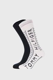 2 Pack vysokých ponožek Tommy Hilfiger