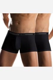 2 pack pánských boxerek UOMO Noir kratší