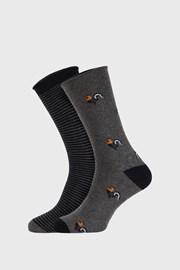 2 PACK сиво-сини чорапи Fantasy