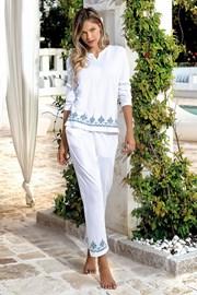 Dámský letní komplet Santorini bílý