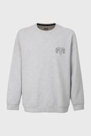 Šedé bavlněné tričko Pure Cotton
