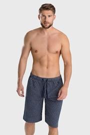 Modré pyžamové kraťasy Enzo