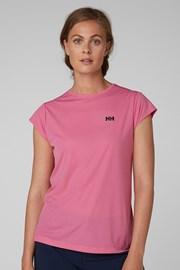 Γυναικείο ροζ αθλητικό φανελάκι Helly Hansen