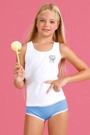 Dívčí komplet kalhotek a tílka Bamboline I