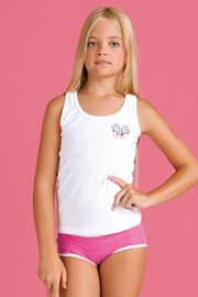 Dívčí komplet kalhotek a tílka Bamboline II
