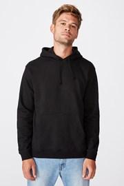 Černá mikina Essential Fleece