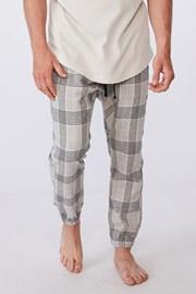 Kostkované kalhoty Pj Drake