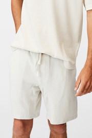 Krémové šortky Supersoft