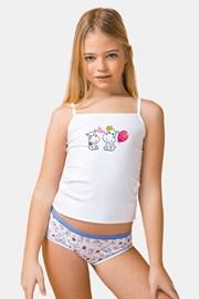 SET dívčího tílka a kalhotek Be happy