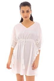 Angela strandruha, fehér