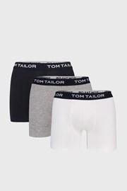 3 PACK delších boxerek Tom Tailor