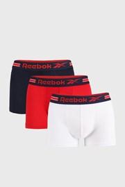 3 PACK boxerek Reebok Garrels