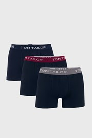 3 DB kék boxeralsó Tom Tailor
