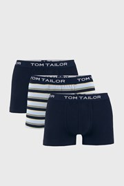 3 PACK сини боксерки Tom Tailor Elastic
