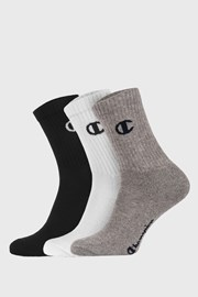 3 PACK sportovních basic ponožek Champion