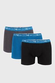3 PACK pánských boxerek DIM Cotton Stretch