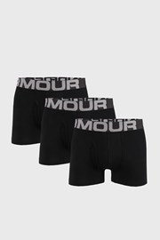 3 PACK černých boxerek Under Armour Cotton