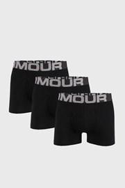 3 PACK černých boxerek Under Armour Cotton