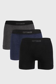 3 PACK boxerek Seamless Trunk I