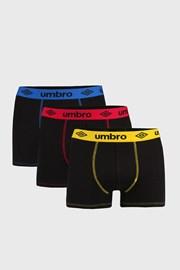 3 PACK boxerek Umbro
