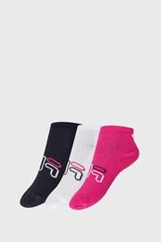 3 PACK dívčích ponožek FILA Invisible