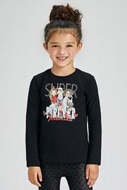 Dívčí tričko s dlouhým rukávem Mayoral Super
