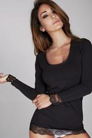 Γυναικεία μπλούζα  Laura με δαντέλα