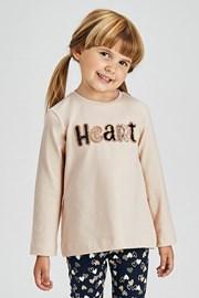 Dívčí komplet legín a trička Mayoral Heart