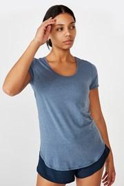 Sportovní triko Gym modré