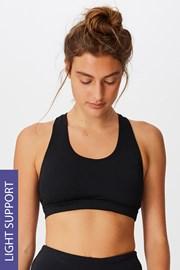 Sportovní podprsenka Workout Crop černá
