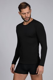 Černé termo tričko Basic