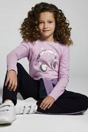Dívčí tričko s dlouhým rukávem Mayoral Music