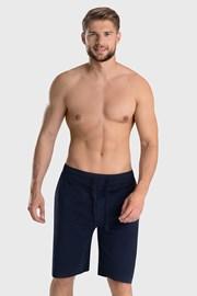 Tmavě modré pyžamové šortky Tom Tailor