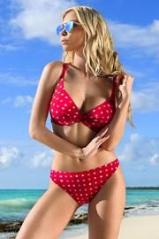 Dámské dvoudílné plavky July Red