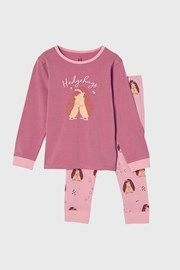 Dívčí pyžamo Hedgehog hugs