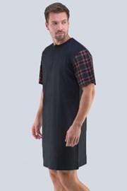 Tmavěšedá noční košile Randal