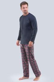 Tmavěšedé pyžamo Brendan