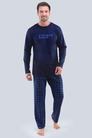 Modré pyžamo Ellis