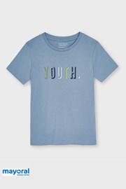 Chlapecké tričko Mayoral Youth modré
