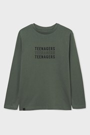 Chlapecké tričko s dlouhým rukávem Mayoral Teenagers