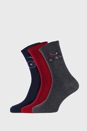 3 PACK dětských ponožek Funny