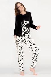 Pijama Dalmatine, material calduros