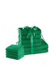 Sada ručníků Amari Family zelená