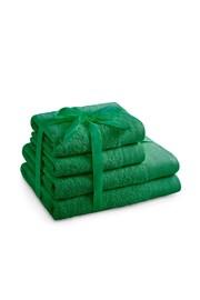 Sada ručníků Amari zelená