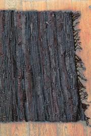 Kobereček Home design z kůže hnědý