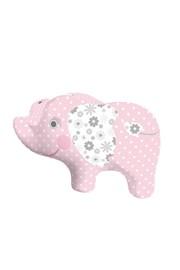 Detský vankúšik Slon ružový