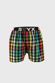 Kostkované trenýrky STYX