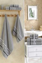 Sada ručníků Bale šedá