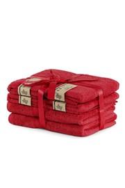 Set bambusových ručníků Bamby červený
