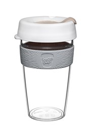 Kubek podróżny z tritanu Keepcup biały 454 ml